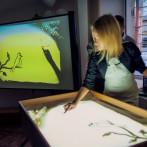 Рисование песком, песочная анимация в Одессе