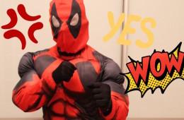 Дэдпул- супергерой на праздник в Одессе