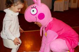 Свинка Пеппа на детский день рождения в Одессе