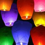 Небесные фонарики счастья