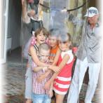 Шоу мыльных пузырей в Одессе