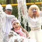 Бумажное шоу- модный праздник в Одессе
