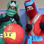 Аниматоры Ниндзяго — программа на детский праздник в Одессе