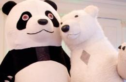 Куклы великаны Белый Мишка и Панда  в Одессе