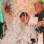 Бумажное шоу на свадьбу, юбилей, корпоратив