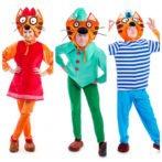 Три кота — аниматоры в Одессе