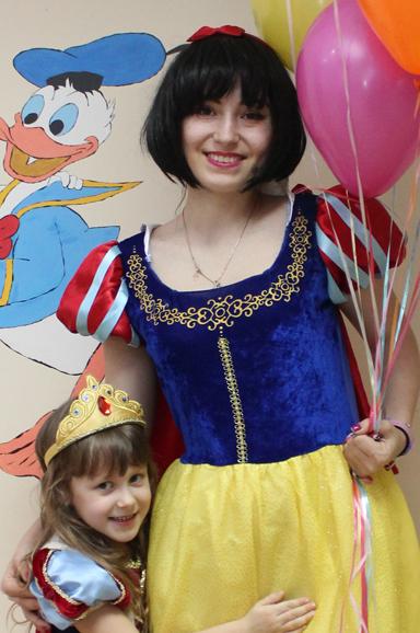 Белоснежка — аниматор на детский праздник в Одессе
