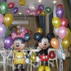 Украшение праздника гелиевыми шарами