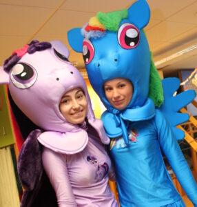 ПОНИ -аниматоры на праздник в Одессе