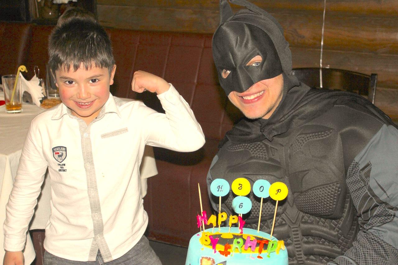 Бэтмен на детский праздник в Одессе