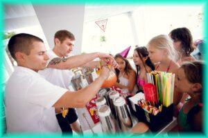 Заказывайте БАРМЕН ШОУ в Одессе для детей