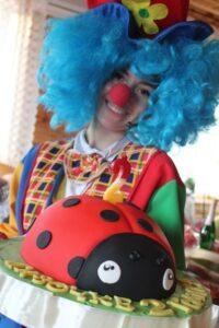Клоун Ника на детский праздник