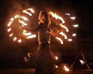 Огненное шоу, Салюты , Фейерверки