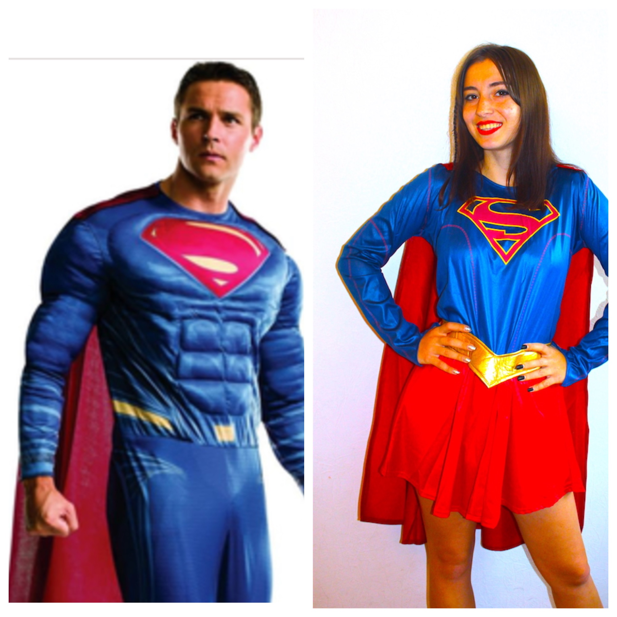 Аниматоры Супермен и Супервумен Одесса