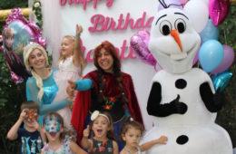 Эльза Холодное сердце, Анна и снеговик — аниматоры на праздник