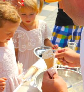 Криошоу с мороженным