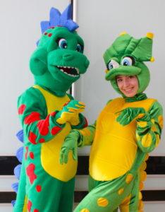 Динозавры — аниматоры в Одессе