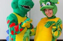 Веселые Динозавры- аниматоры в Одессе