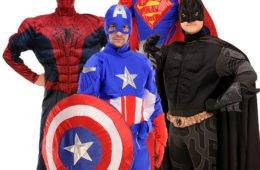 Супергерои  и Трансформеры — аниматоры