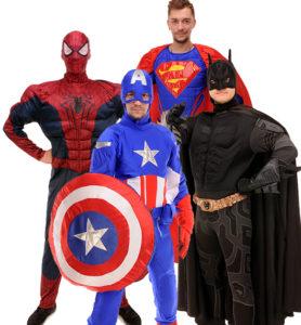 Супергерои  и Трансформеры