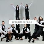 Танцующие официанты — флэшмоб
