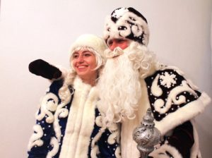 Дед Мороз на дом в Одессе