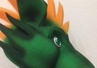 Шапка динозавра