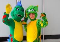 Праздник с динозаврами