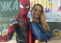 Супер девушка и Спайдермен